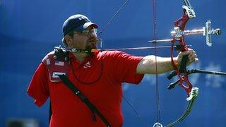 American archer Eric Bennett