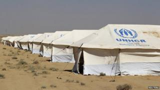 New refugee camp has been opened in Jordan for Syrian refugees.