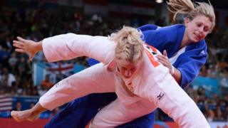 Gemma Gibbons has won silver medal for Team GB in Judo.