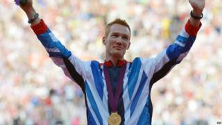 Long jumper Greg Rutherford