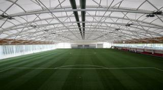 Football pitch in St George's Park