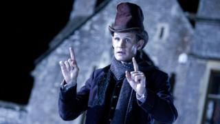 Matt Smith as The Doctor in the BBC's Doctor Who Christmas special 2012