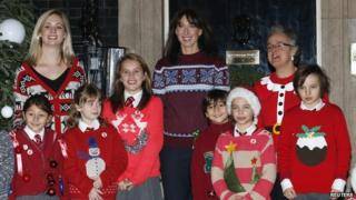 Samantha Cameron launches Christmas jumper day.