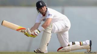 Jonathan Trott and Ian Bell score centuries