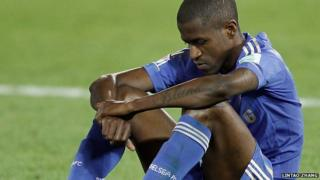 Ramires after the final whistle