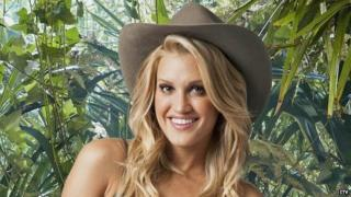 Ashley Roberts, runner-up in this year's I'm A Celebrity...Get Me Out Of Here!