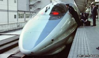 500 Shinkansen bullet train
