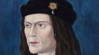 A painting of Richard the third.