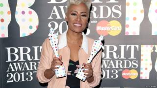 One award wasn't enough for Emeli Sande - she took home two!