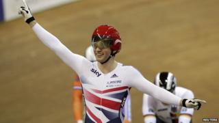 Gold rush for GB cyclists