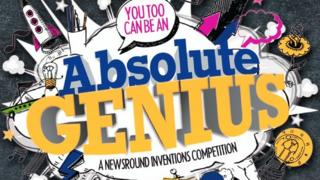 You too can be an absolute genius - a Newsround inventions competition - logo