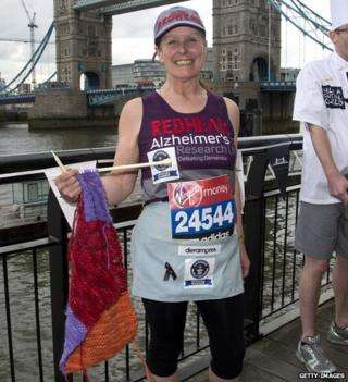 London Marathon - Susie Hewer