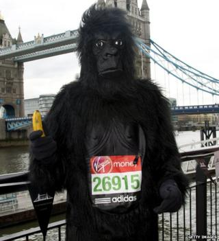 London Marathon - Bruce Moore