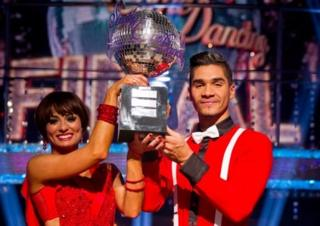 Louis Smith and Strictly dance partner Flavia Cacace