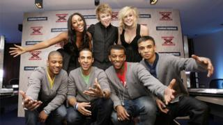 Alexandra Burke, JLS, Eoghan Quigg and Diana Vickers