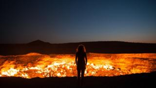Door to hell Photo and caption by Priscilla Locke/National Geographic Traveller Photo Contest