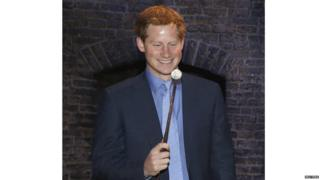 Prince Harry and Magic wand