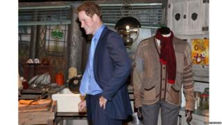 Prince Harry in the Bungalow kitchen