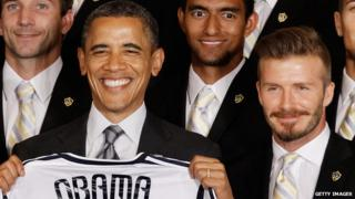 Becks and Barack Obama