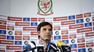 Chris Coleman give press conference