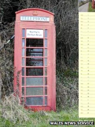 Phone box for December