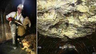 "Britain's biggest ever ""fatberg"" was found in a London sewer."