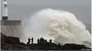 Storm Porthcawl