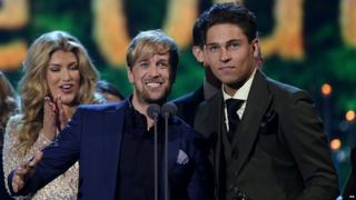 Kian Egan and Joey Essex