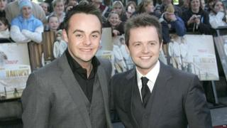 Ant & Dec at premiere of Alien Autopsy movie in 2006