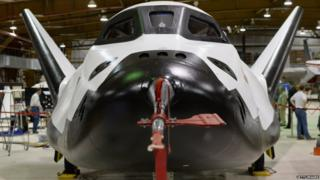 The Dream Chaser, front view