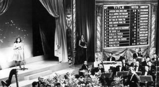 An early Eurovision Song Contest in 1960