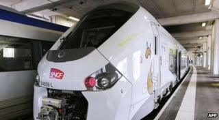 The new SNCF Regiolis Regional Express Train (TER)