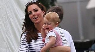 Prince George crying