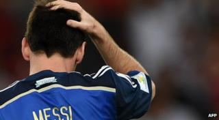 World Cup final: Argentina captain Lionel Messi