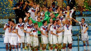 Germany lifting world cup