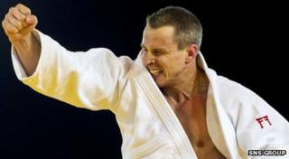 Euan Burton was one of six gold medal winners for Scotland in judo