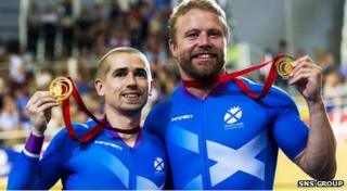 Neil Fachie and Craig Maclean delivered two wins for Scotland