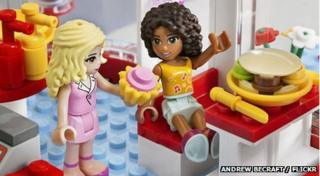 The Lego friends range