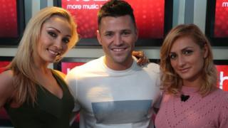 Iveta Lukosiute, Mark Wright and Aliona Vilani