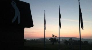 Sunrise at Celtic Manor
