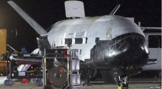 The US Air Force's X-37B appeared at Vandenberg Air Force Base in California on 3 December 2010