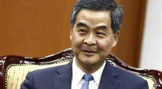 Hong Kong Chief Executive CY Leung