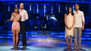 Jake and his dancing partner were sent home in the Strictly come dancing semi final