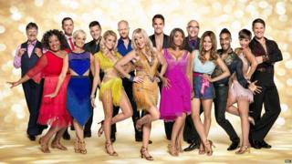 The Strictly Come Dancing cast