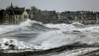 Parts of Britain set for wild weather