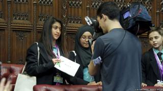 Children in the House of Lords.