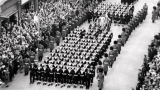 Winston Churchill's funeral march