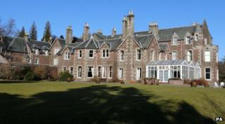 Cromlix House is near to Murray's home town of Dunblane.