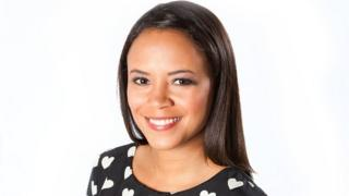 Newsround presenter Leah Boleto