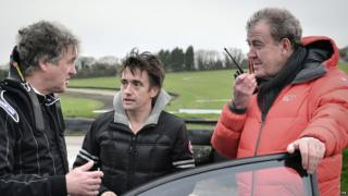 James May, Richard Hammond and Jeremy Clarkson